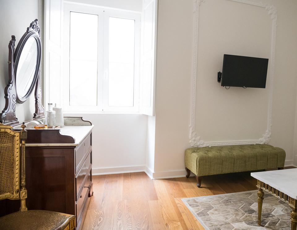 Suite King Deluxe – Suite Jardim do Principe Real